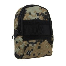 Mini Practical Waist Tactical Camera Phone Accessory Bag ForOutdoor Sports Digital Camouflage - Intl