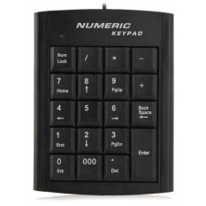 Mini USB 19 Keys Numeric Number Keypad Keyboard For Laptop Notebook PC Computer