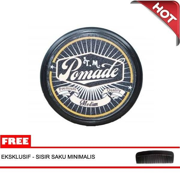 Minyak Rambut Aroma Coffe Brown TM Pomade Oilbased 60 gram Medium Cokelat e4ec324e87