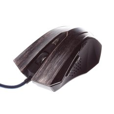 MJT JT2049 Wired Precision Optical Mouse Corded Gaming Mouse (Black) (Intl)