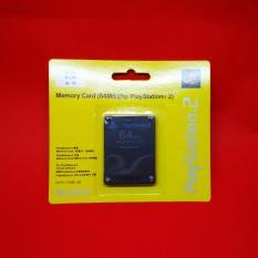 MMC Memory Card PS2 PlayStation 2 - 64 MB Hitam