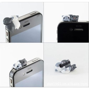 Xiaomi Original Mikey Quick Button Earphone Jack Plug Dustproof Source Moonar 3 5 .