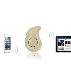 Moonar Fashion Right Ear Type Wireless Mini In-ear Headset Bluetooth 4.1 Earphone Stealth Earphone (Gold) - Intl