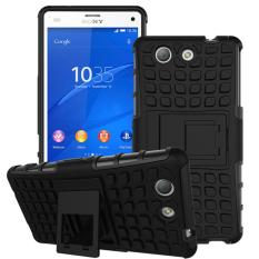 Mooncase Case For Sony Xperia Z4 Compact Detachable 2 in 1 Shockproof Tough Rugged Prevent Slipping