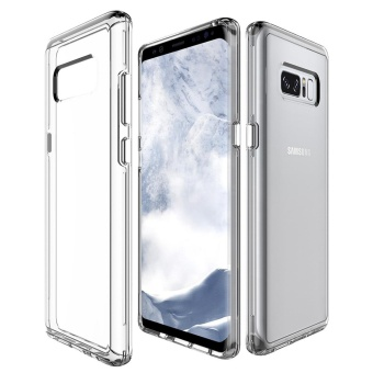 MOONCASE for Samsung Galaxy Note 8 case Anti Shock Transparent Back Shell Soft Thin TPU Case