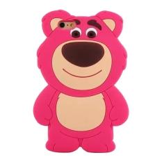 Moonmini kasus untuk Apple iPhone 6 Plus 13,97 cm Hot Pink 3D lucu desain