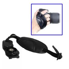 Moreno Leather Camera Grip Hand Strap Hand Grip Kamera Universal SLR DSLR - Hitam