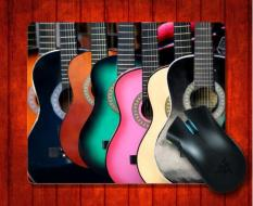 MousePad Accoustic Guitars Music For Mouse Mat 240*200*3mm Gaming Mice Pad - Intl