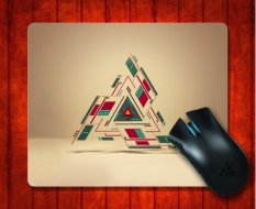 MousePad Triangle 3d For Mouse Mat 240*200*3mm Gaming Mice Pad - Intl