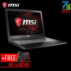 MSI GL62M-7RDX-1018XID - Intel Core i7 Skylake - 4GB - 1TB+128GB SSD - 15,6' - nVidia GeForce GTX1050 4GB