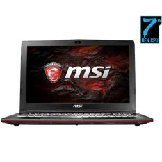 MSI GP62MVR-7RFX Leopard Pro - Intel Core i7-7700HQ - 16GB RAM - 256GB SSD + 1TB - Windows 10 Home - 15.6