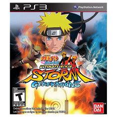 Naruto Shippuden Ultimate Ninja Storm Generations - Playstation 3 (Intl)