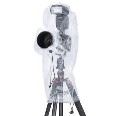 Neewer Rain Cover Rainproof Camera Protector For Digital SLR Camera and Lens (Clear) (Intl)