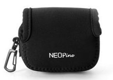 NEOPine Original Neoprene Soft Camera Case Bag For Gopro HERO3 HERO3 + HERO4 Sport Action Camera Protective Pouch Cover (Black)