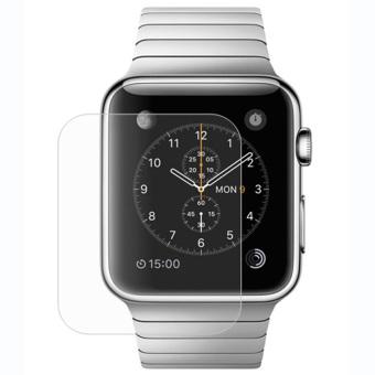 New temper kaca Pelindung Layar LCD film untuk Apple Watch 42 mm