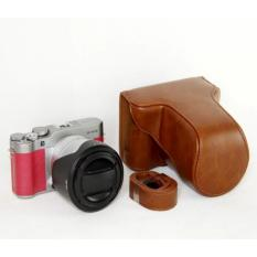 Newest Vintage Video Camera Case Bag For Fujifilm X-M3 XM3 XA3 PU Leather Camera Bag High Quality - Intl