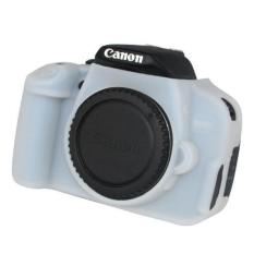 Nice Soft Silicone Rubber Camera Protective Body Cover Case Skin For Canon EOS 700.650D Camera Bag (White) - Intl