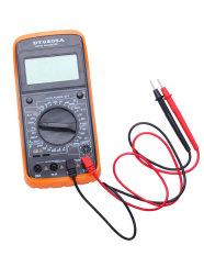 NiceEshop Digital Multimeter LCD Ammeter Resistance Capacitance Tester (Black&Yellow)