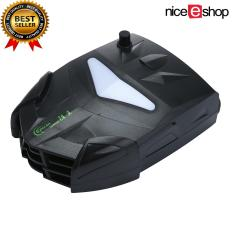 niceEshop Laptop Cooler with Vacuum Fan, Laptop Air Extracting Cooling Fan (Black)