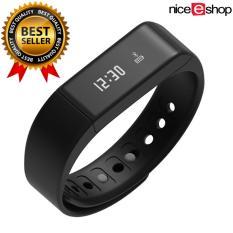 niceEshop Smart gelang Bluetooth 4.0 Tahan Air Krida pelacak Smartband (Hitam) - International
