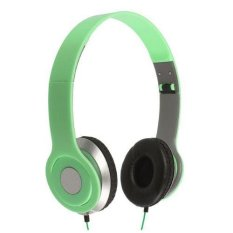 Nike NK - 300 For Handphone / Laptop / MP3 / MP4 / PC & Tablet 3.5mm Stereo Earphone Headset Green