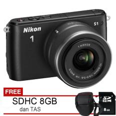 Nikon 1 S1 - Lensa 10-30mm VR + Free SDHC 8GB dan Tas