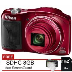 Nikon Coolpix L610 - 16MP CMOS + Free SDHC 8GB