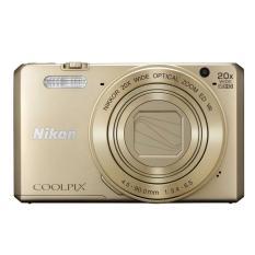 Nikon Coolpix S7000 Wifi/NFC Digital Camera - 16MP - 20X Optical Zoom - Gold
