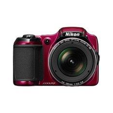 Nikon L820 Prosumer - Merah + Memori 8GB
