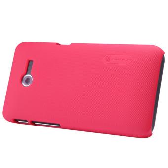 Nillkin Asus Zenfone 4 1600mah Super Frosted Shield Hard Case Original - Merah + Free Nillkin