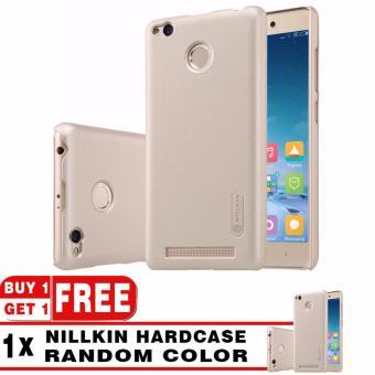 Nillkin Frosted Shield Hardcase For Xiaomi Redmi 4x Gold Free Nillkin Frosted Shield Hardcase