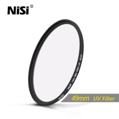 Nisi 49mm UV Filter DUS Ultra Slim Professional UV Filters Ultra Thin Protective Ultraviolet Filters