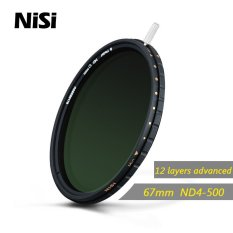 Nisi 67mm Nd4 500 Nd4-500 Neutral Density Filter Ultra Thin Adjustable Reduce Light Filter Nd Gray Filters