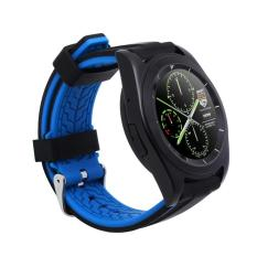 """NO.1 G6 Heart Rate Smart Watch 1.2"""" Touch Screen MTK2502 Bluetooth 4.0 For IPhone 6 Plus 7S Plus Samsung S6 S6 Edge HTC Android Smartphone (Sport Black) - Intl"""