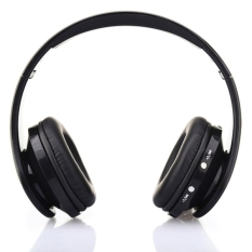NX-8252 Bluetooth Fold High Fidelity Surround Sound Wireless Stereo Headset with Mic (Black) (Intl)
