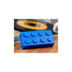 OEM Building Block Mini MP3 Player dengan TF Card Reader - Biru