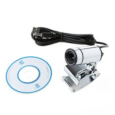 OEM PC Webcam with Mic - 30.0 MP - Silver