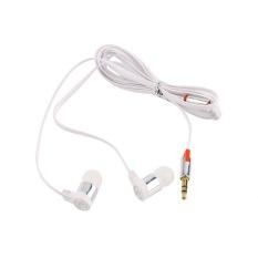 OH Stereo 3.5mm In Ear Headphone Earphone Headset Earbud For IPhone Smart Phone White