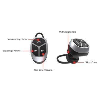 Olahraga Nirkabel Bluetooth 4,1 Headset Dan Speaker Mini Menggunakan Hands-free Alat Pendengar