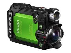 Olympus TG-Tracker 4K Action Cam - Hijau + Gratis Pistol Grip + MicroSD 64GB