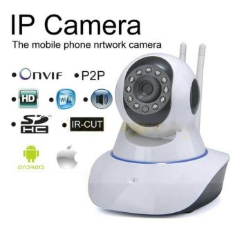 Onvif CCTV Ip Camera P2P Onvif Hd 2 Antena Wifi 720p Night Vision