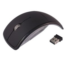 Optical W AUE Wireless Optical Mouse 2.4G - M016 - Hitam