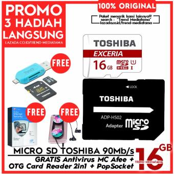 Original 100% Toshiba Micro SD 90Mb/s (4k Action Cam / Gopro /