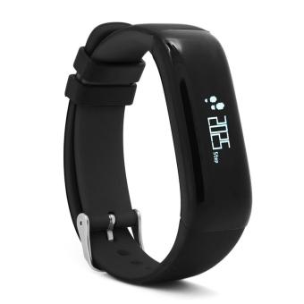 P1 Bluetooth 4.0 Waterproof IP67 Smart Wristband Smartband Blood Pressure Monitor Heart Rate Monitor Smart Bracelet Fitness Tracker Smart Band for Android and IOS - Black - intl