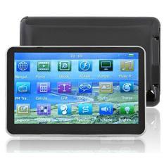 Panas 12.7 cm GPS navigasi mobil otomotif Sat Nav 4 GB peta baru kejap 6.0 FM Mp4