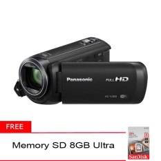 Panasonic HC-V380K Full HD Camcorder + Gratis Memory SD Ultra 8GB