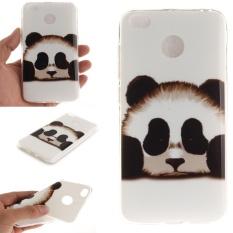 Pattern Printing IMD TPU Protective Case for Xiaomi Redmi 4X - Cute Panda - intl