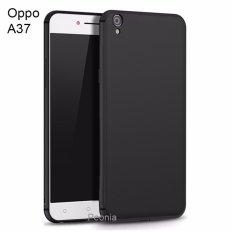 Peonia Anti Fingerprint Ultraslim Hybrid Case for Oppo A37 / Neo 9 - Hitam