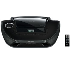 Philips Audio Boombox - MP3 / WMA-CD, CD & CD-RW - AZ-1837
