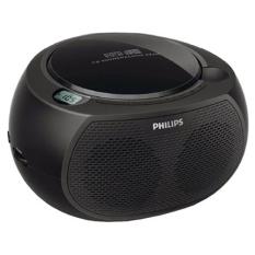Philips CD Player AZ380 CD Soundmachine Radio MP3 USB (Black) - Intl - Intl